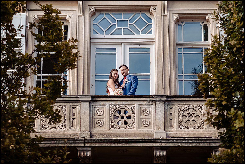 Balkon Hochzeit im Weingut von Winning Deidesheim