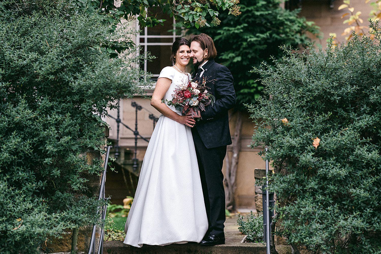 Brautpaar heiraten weingut von winning deidesheim