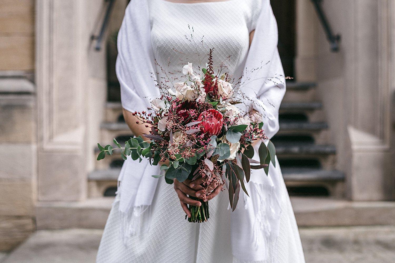 Braut im weingut von winning deidesheim
