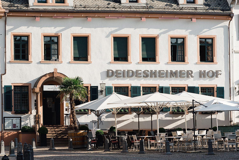 Deidesheimer Hof außenansicht - Hoteleingang